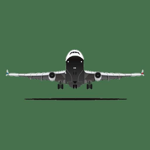 Plane Lifting Off