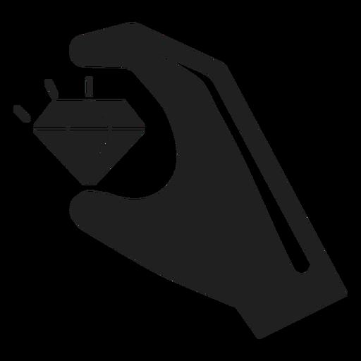 Hand Holding A Diamond Icon