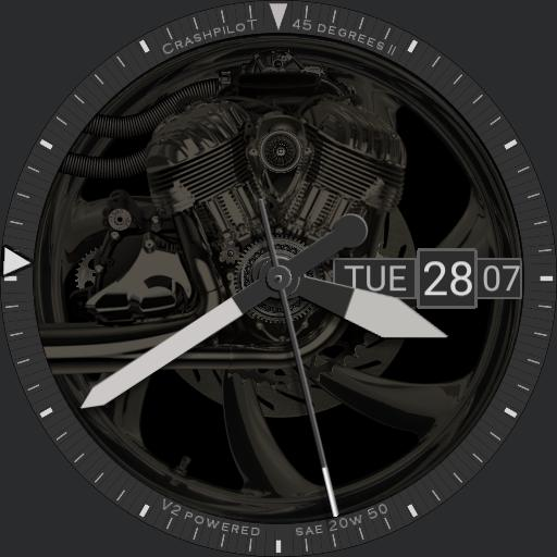 Cockpit One Degrees Ii Wallpaper And Watch Face For Moto