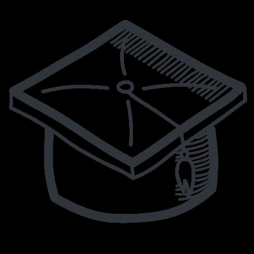 Academic, Academy, Cap, Education, Graduate, Graduation, Handdrawn
