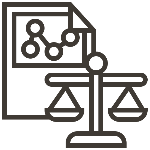 Chart, Finance, Report, Scale, Balance, Accounting Icon