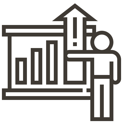 Chart, Graph, Finance, Report, Analysis, Accounting Icon