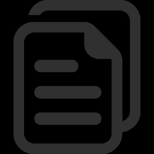 Copy Icon Mono General Iconset Custom Icon Design