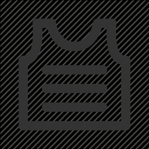 Armor, Armour, Bulletproof Vest, Kevlar, Safety, Vest Icon
