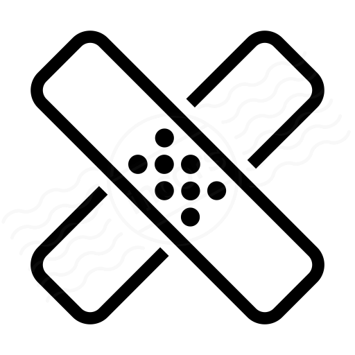 Iconexperience I Collection Band Aid Icon