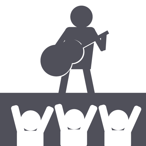 Rock, Band, Music, Stage, Festival Icon