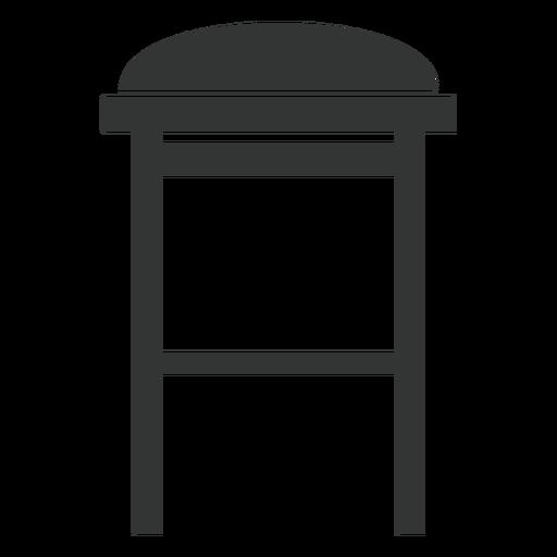 Bar Stool Flat Icon
