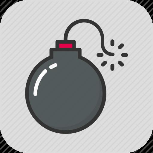 Bomb, Bombshell, Explosive, Grenade, Weapon Icon