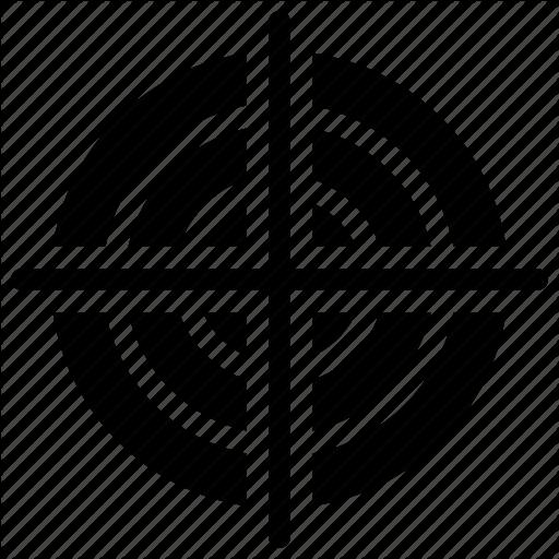 Bullseye, Focal Point, Focus, Precision, Target Icon