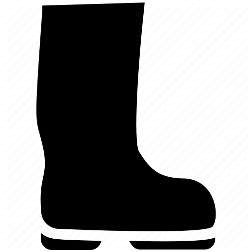 Engineer Boots, High Boots, Long Shoes, Safety Boots, Shoes Icon
