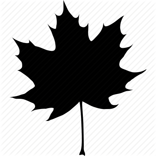Black, Autumn, Canada, Canadian, Fall, Leaf, Maple, Tree Icon