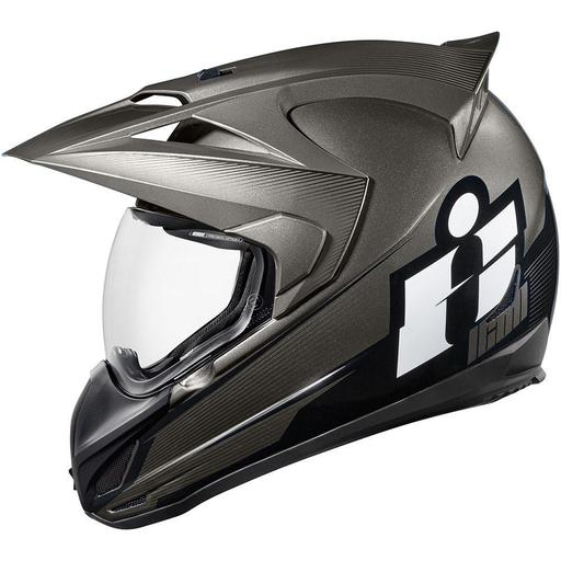 Icon Variant Helmet In Double Stack Black Hfx Motorsports