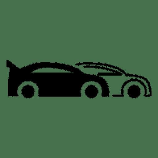 Speed Race Car Racing Icon