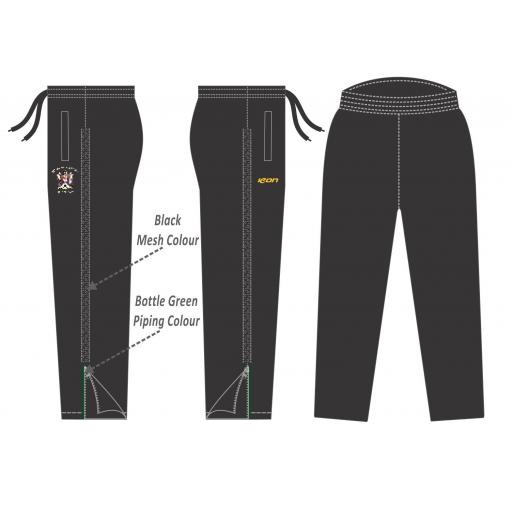 Stalybridge St Pauls Cc Microstretch Track Pants