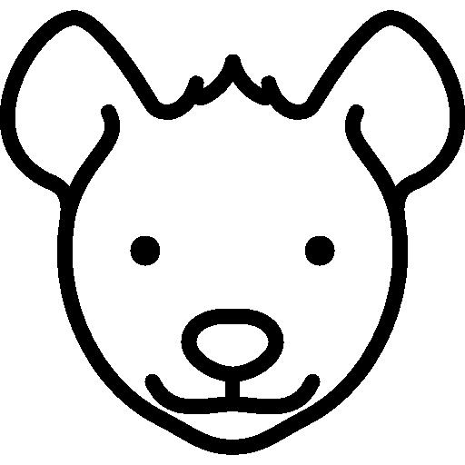 Hyena Head Icons Free Download