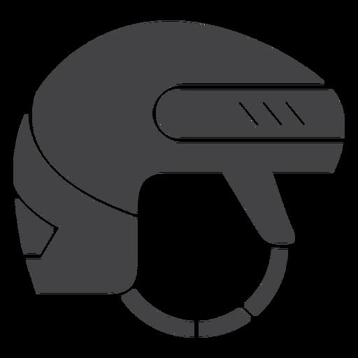Ice Hockey Helmet Flat Icon