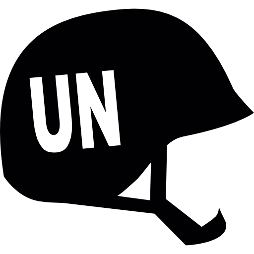 United Nations Helmet Icons Free Download