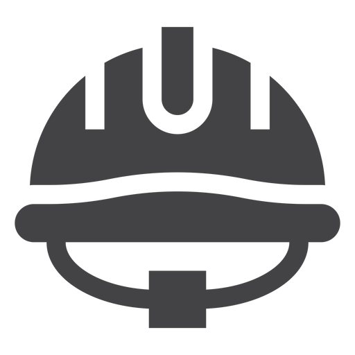 Firefighter Helmet Flat Icon