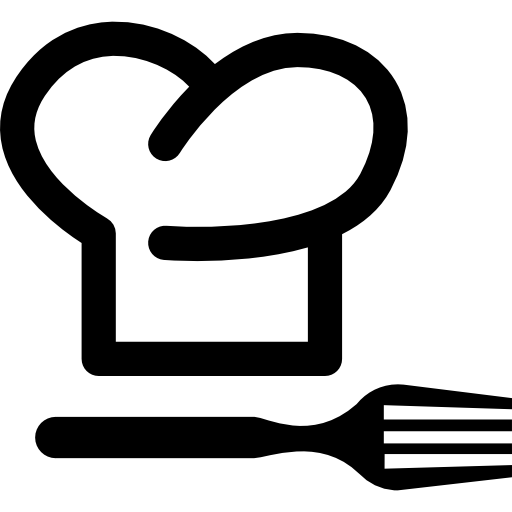 Chef Hat And Fork
