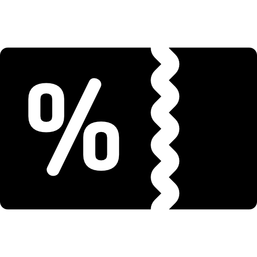 Coupon Flat Icon