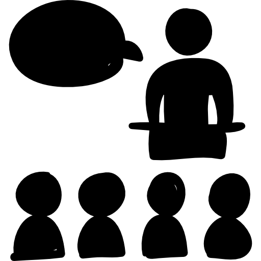 Class Hand Drawn Persons Group Icons Free Download