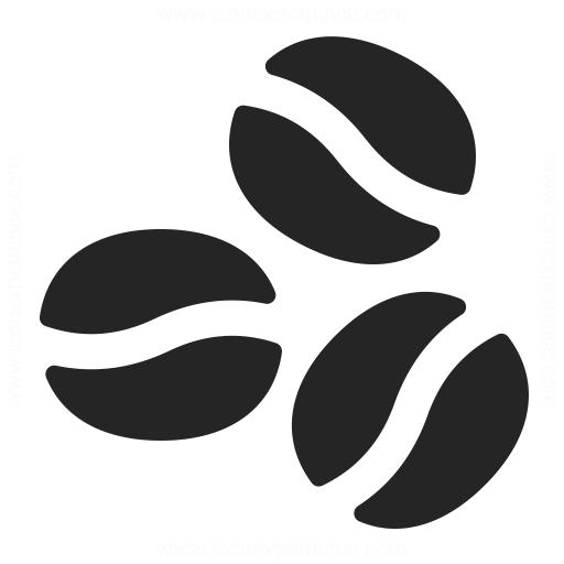 Coffee Beans Icon Iconexperience