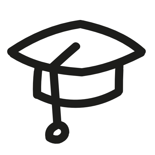 College Graduation Hat Icon Free Icons Download