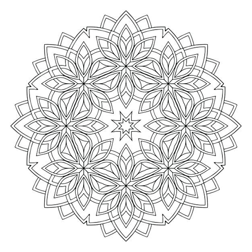 Mandala Color Book