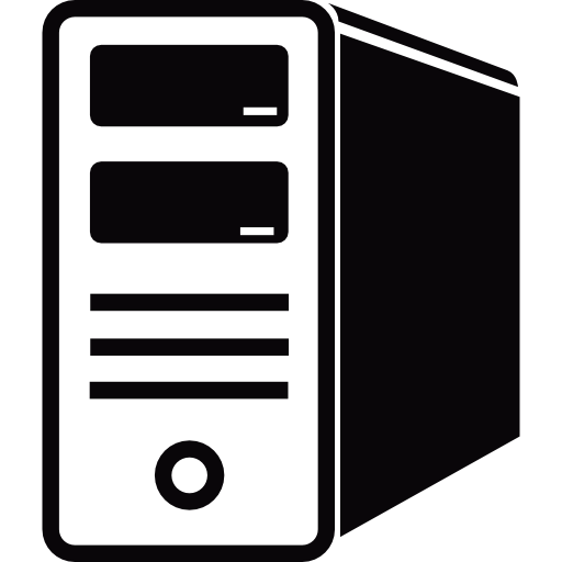 Case, Tower, Server, Technology, Computer Icon
