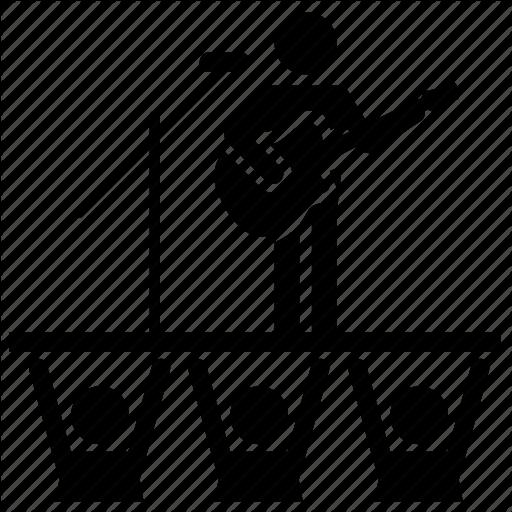 Concert, Music, Rock, Singer Icon