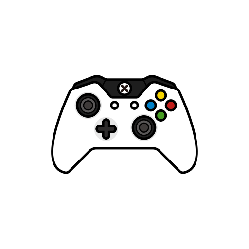 White, Controller, Gamer, Xbox One, Controllers Icon