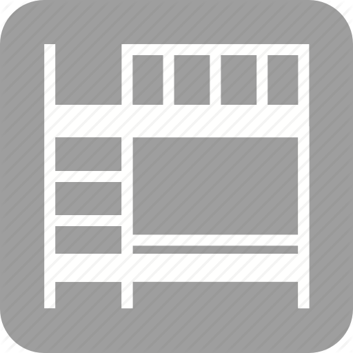 Bed, Bedroom, Beds, Bunk, Home, Pillow, Room Icon