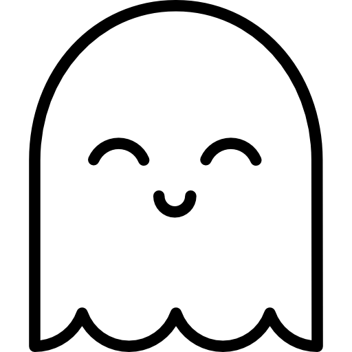 Cute Ghost Icons Free Download