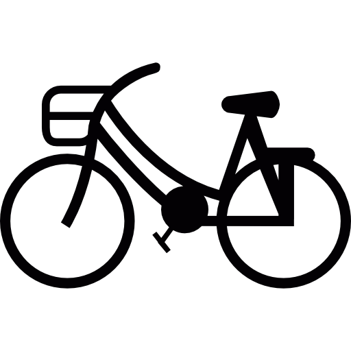 Ride, Pushbike, Bike, Bicycle, Sports, Travel Icon