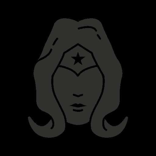 Female Superhero, Girl Something, Justice League, Wonder Woman Icon