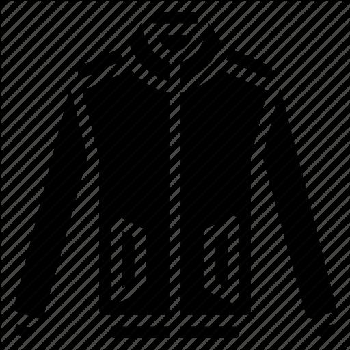 Bomber, Clothing, Coat, Jacket, Mens, Solid Icon