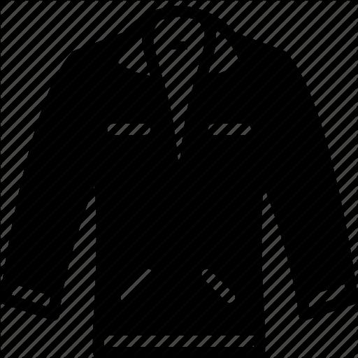 Coating, Denim, Fashionable, Jacket Icon