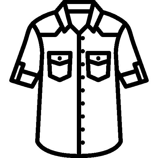 Denim Shirt Icons Free Download