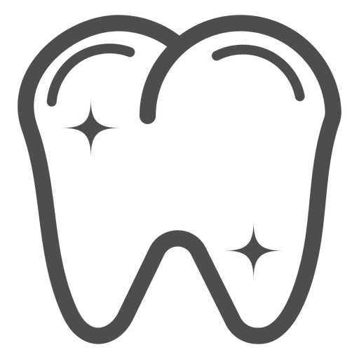 Tooth Stroke Icon