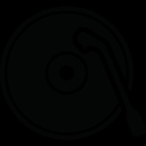 Download Dj,music,turntable,retro Icon Inventicons