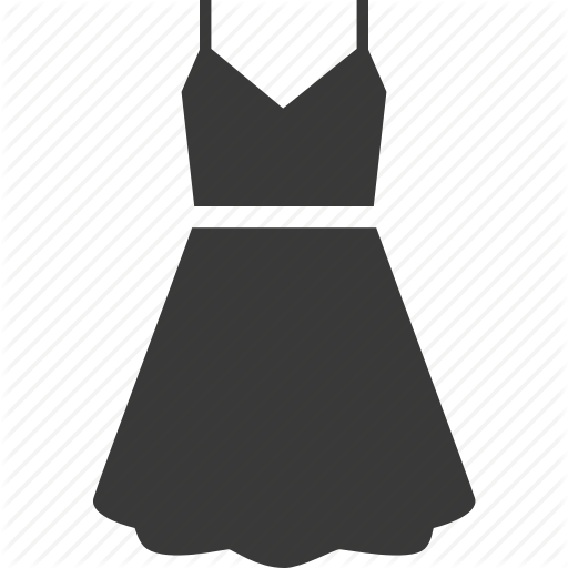 Clothes, Clothing, Dress, Womens Clothing Icon