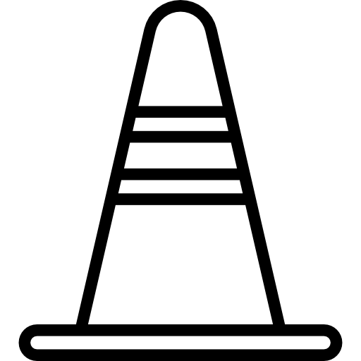 Traffic Cone Icons Free Download