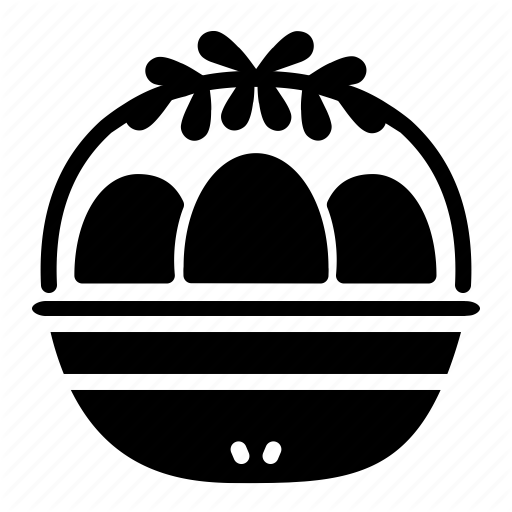 Basket, Decoration, Easter, Easter Egg, Egg Icon