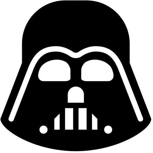 Darth Vader Icon Vinyl Decal Sticker Ebay Morphius Crafts