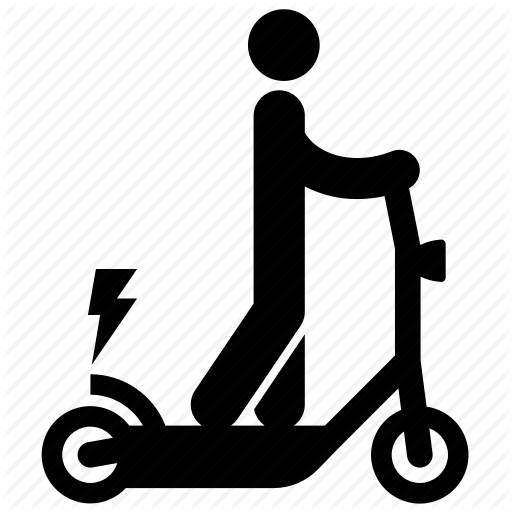 Electric Scooter, Electric Transport, Electrical, Person, Riding