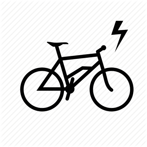 Bicycle, Bicycle Electric, Bike, Electric Icon