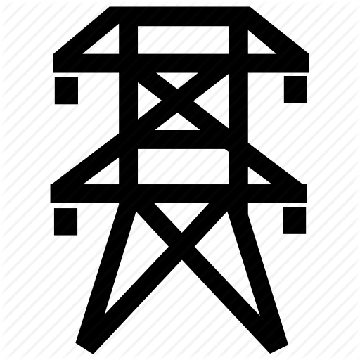 Electric, Electricity, Lines, Network, Power, Supply Icon