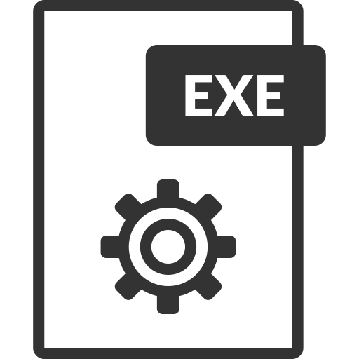 Exe, Executable, Icon With Png And Vector Format For Free