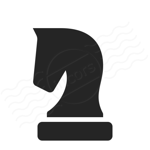 Iconexperience O Collection Chess Piece Knight Icon Chess
