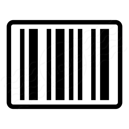 Iconexperience I Collection Barcode Icon With Barcode Label